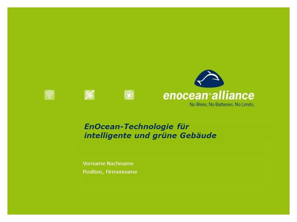 EnOcean-Technologie für intelligente und grüne Gebäude