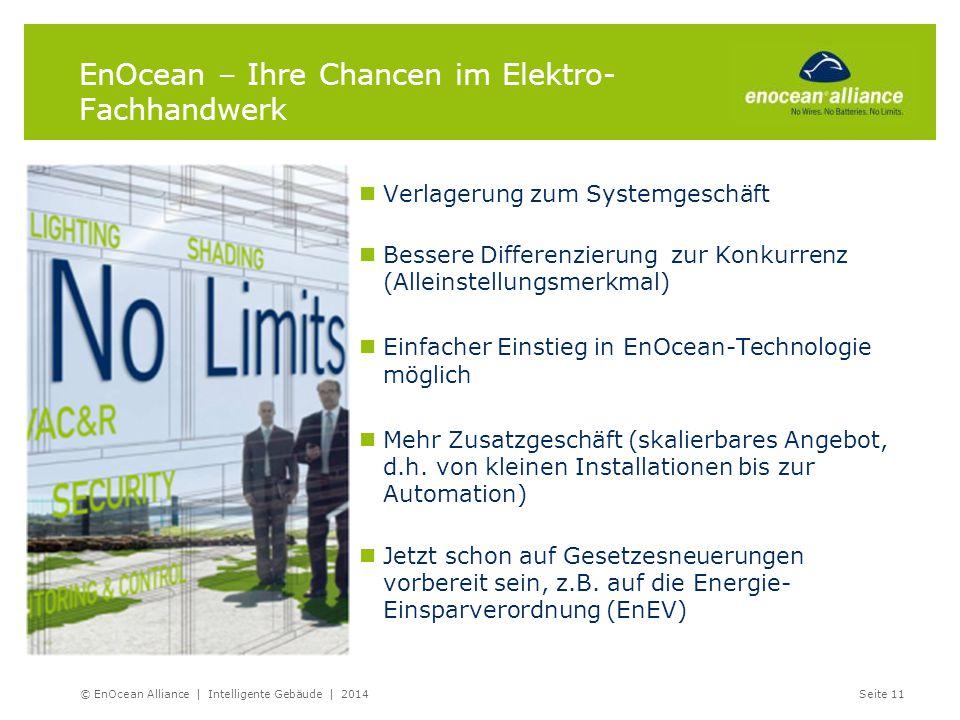 EnOcean – Ihre Chancen im Elektro-Fachhandwerk