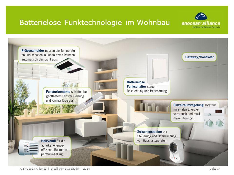 Batterielose Funktechnologie im Wohnbau