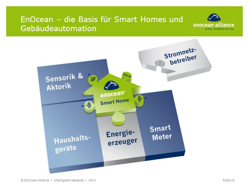 EnOcean – die Basis für Smart Homes und Gebäudeautomation