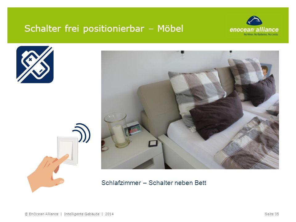 Schalter frei positionierbar – Möbel