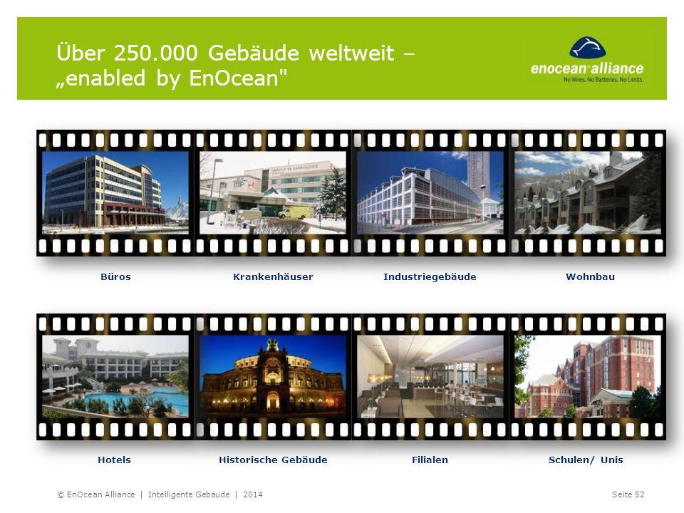 """Über 250.000 Gebäude weltweit – """"enabled by EnOcean"""