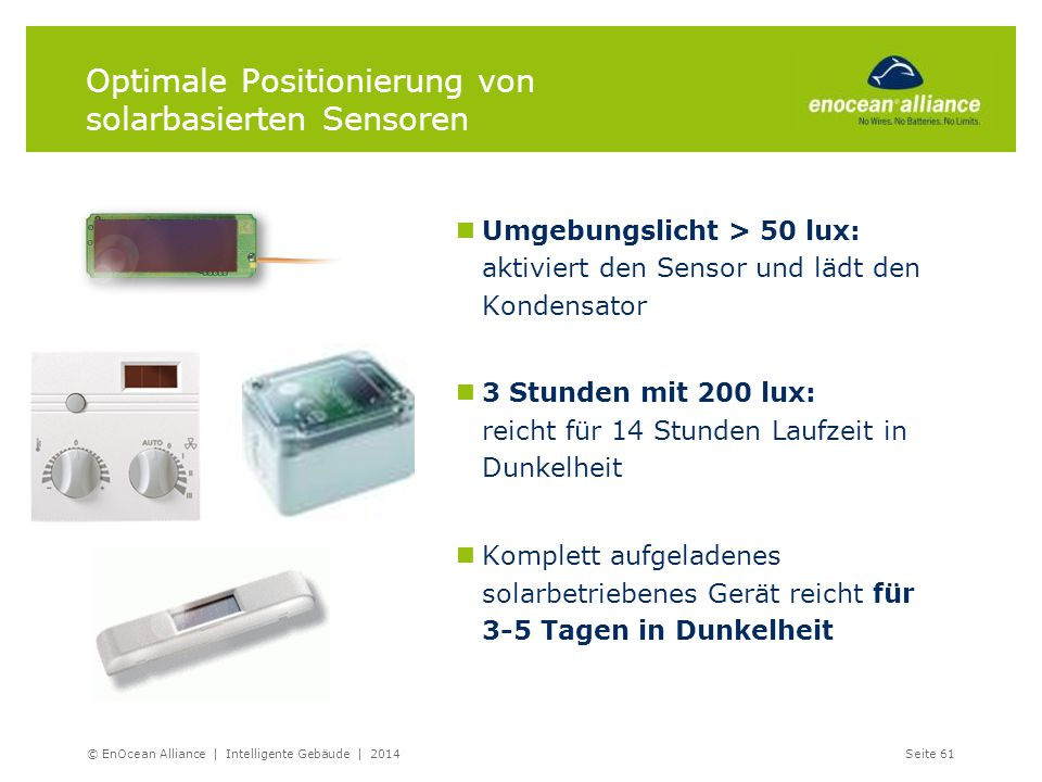 Optimale Positionierung von solarbasierten Sensoren