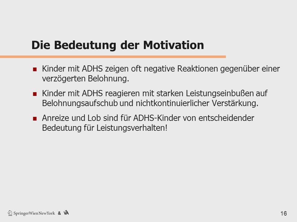 Die Bedeutung der Motivation