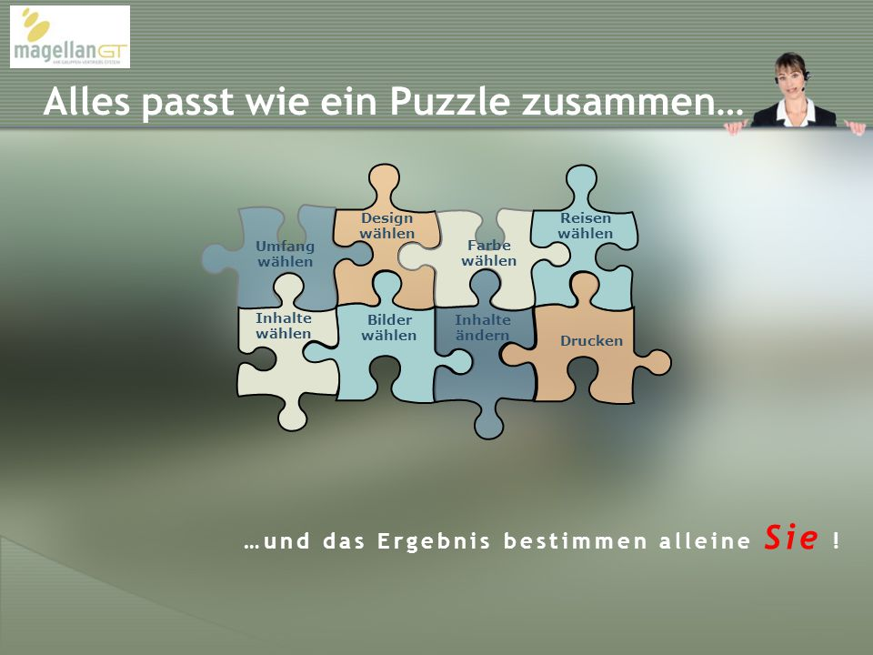 Alles passt wie ein Puzzle zusammen…