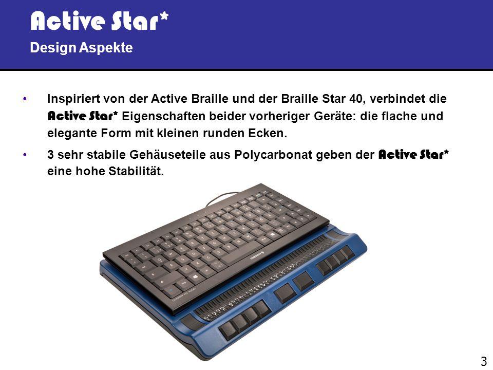 Active Star* Design Aspekte