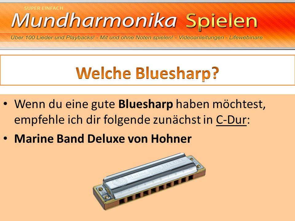 Welche Bluesharp Wenn du eine gute Bluesharp haben möchtest, empfehle ich dir folgende zunächst in C-Dur: