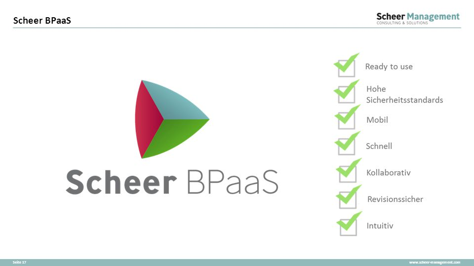 Scheer BPaaS