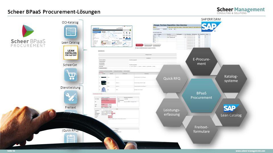 Scheer BPaaS Procurement-Lösungen