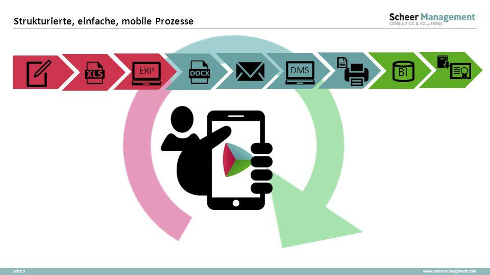 Strukturierte, einfache, mobile Prozesse