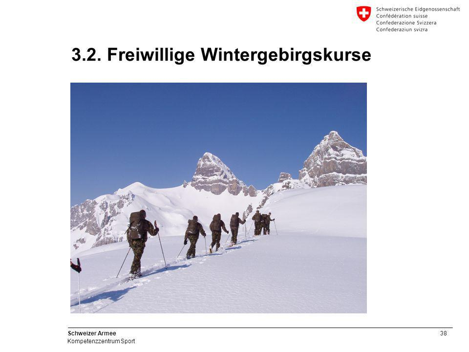 3.2. Freiwillige Wintergebirgskurse