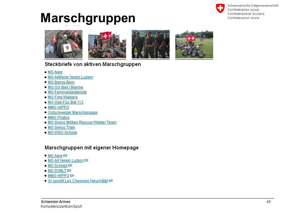 Marschgruppen