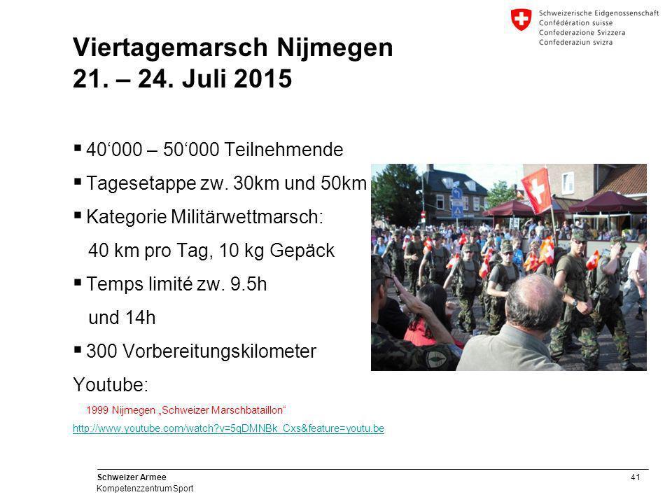 Viertagemarsch Nijmegen 21. – 24. Juli 2015