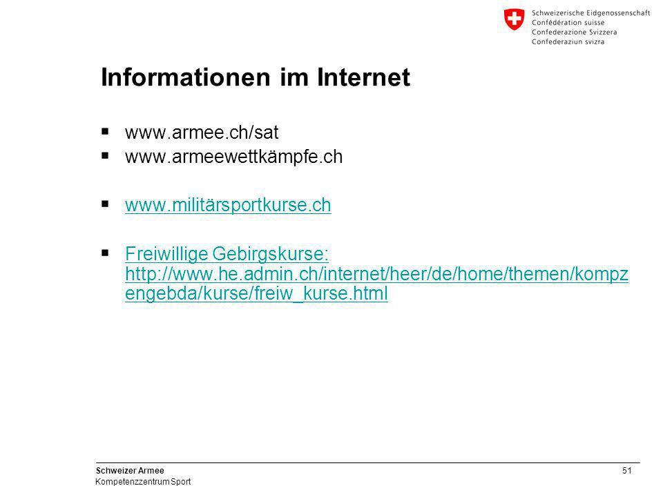 Informationen im Internet
