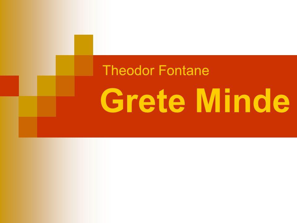 Theodor Fontane Grete Minde