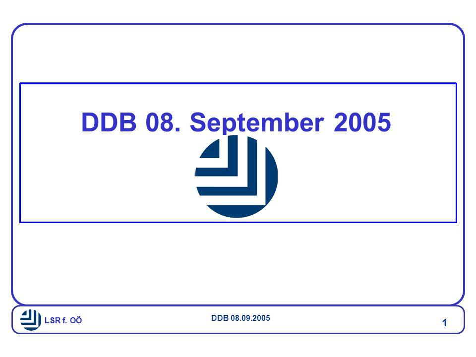 DDB 08. September 2005 LSR f. OÖ