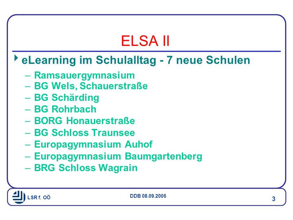 ELSA II eLearning im Schulalltag - 7 neue Schulen Ramsauergymnasium