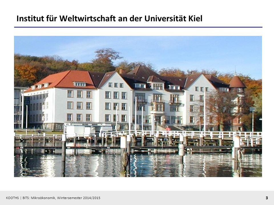 Institut für Weltwirtschaft an der Universität Kiel