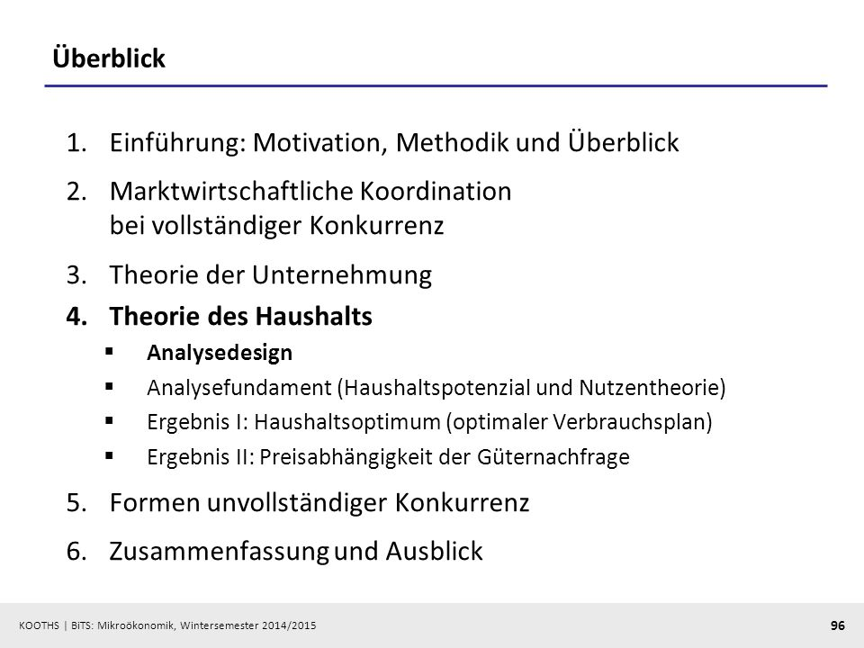 Einführung: Motivation, Methodik und Überblick