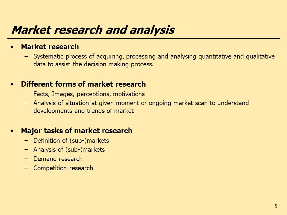 market research definition
