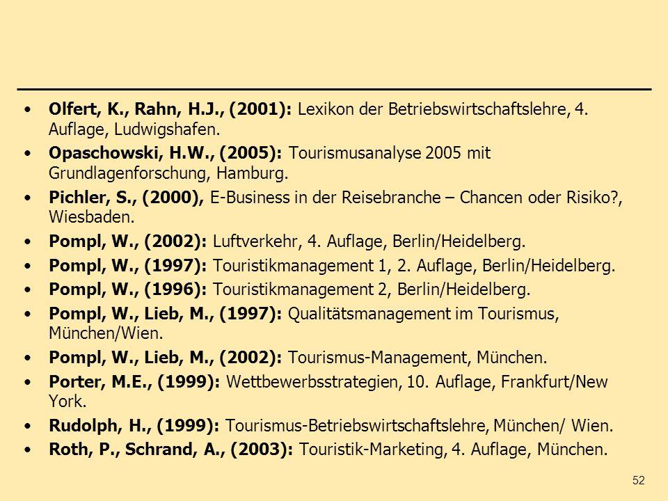 Olfert, K., Rahn, H.J., (2001): Lexikon der Betriebswirtschaftslehre, 4. Auflage, Ludwigshafen.