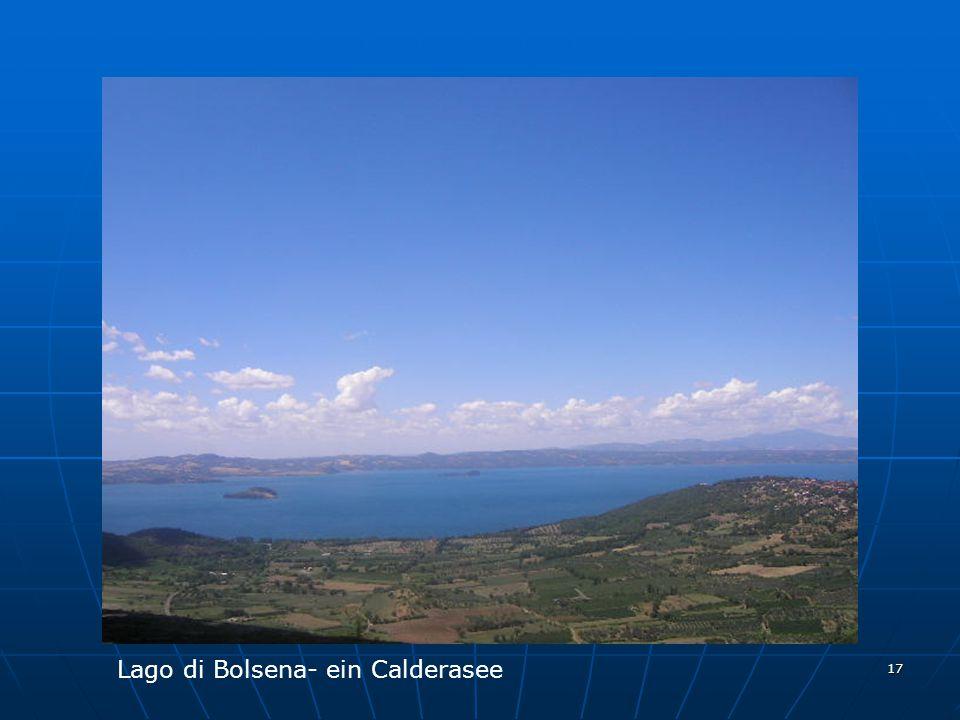Lago di Bolsena- ein Calderasee