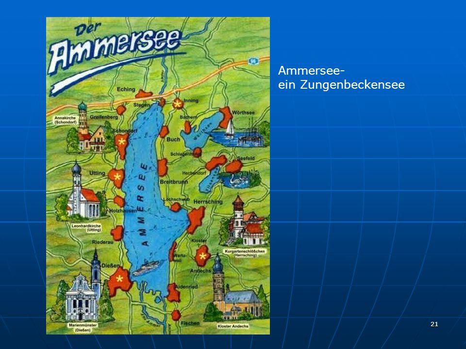 Ammersee- ein Zungenbeckensee