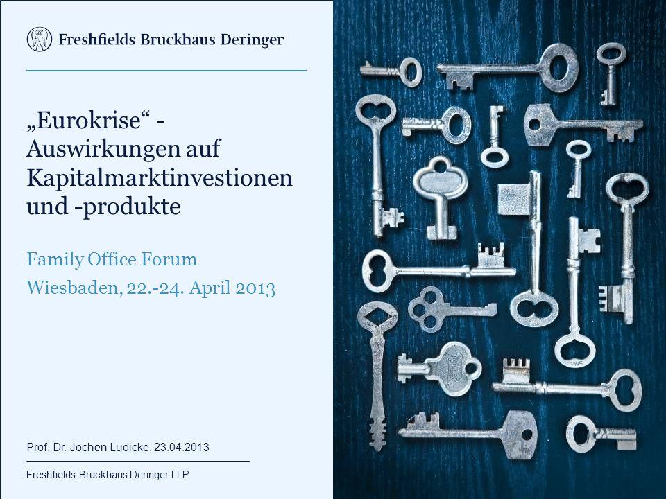 """Agenda Einzelaspekte der """"Eurokrise"""