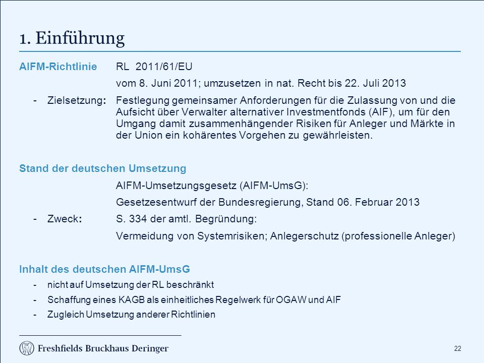 2. Ausgangssituation für Family Offices (FOs) nach KWG (1)