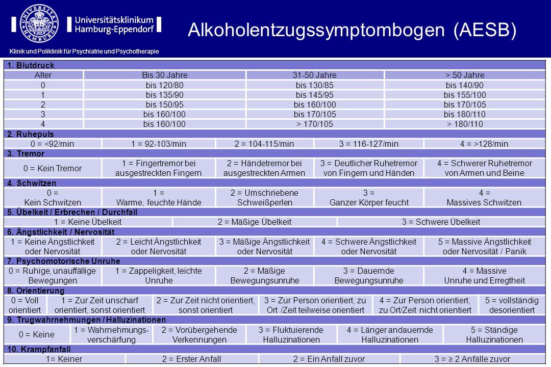 Alkoholentzugssymptombogen (AESB)