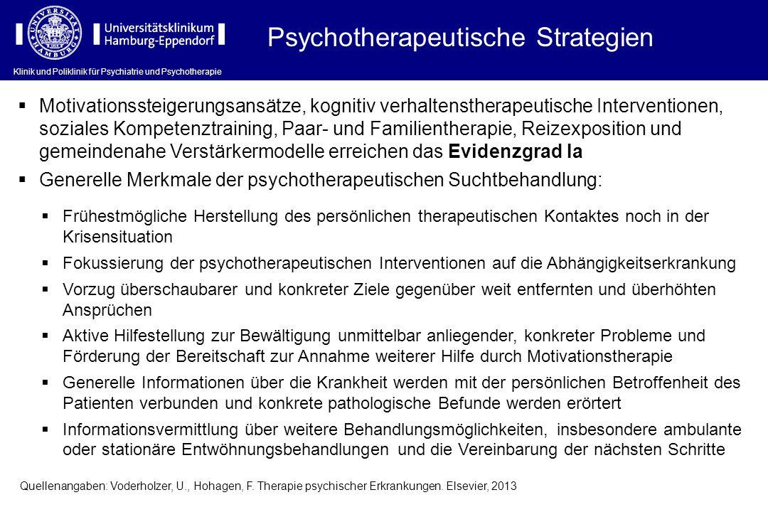 Psychotherapeutische Strategien