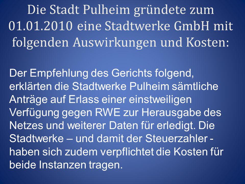 Die Stadt Pulheim gründete zum 01. 01