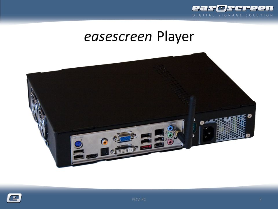 easescreen Player POV-PC
