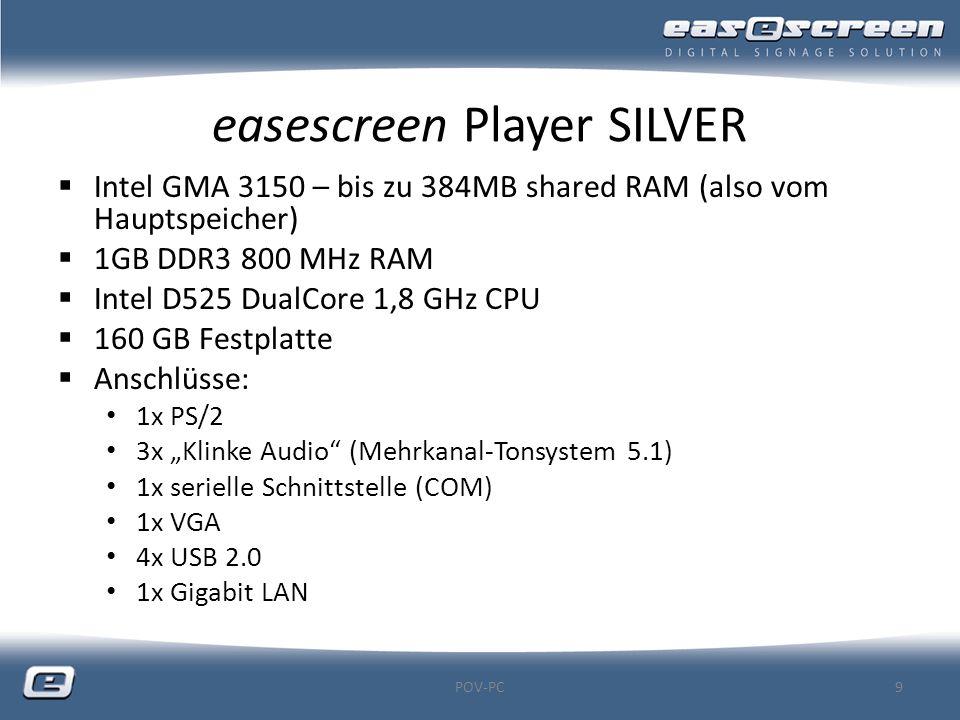 easescreen Player SILVER