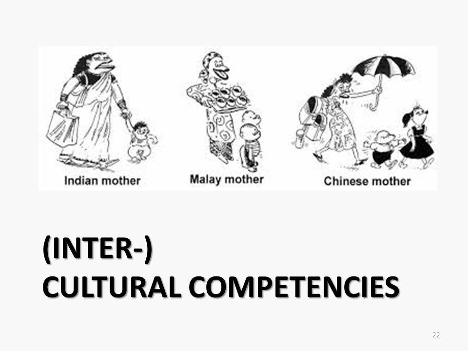 (Inter-) Cultural Competencies