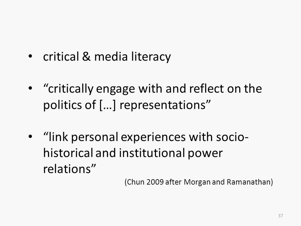 critical & media literacy