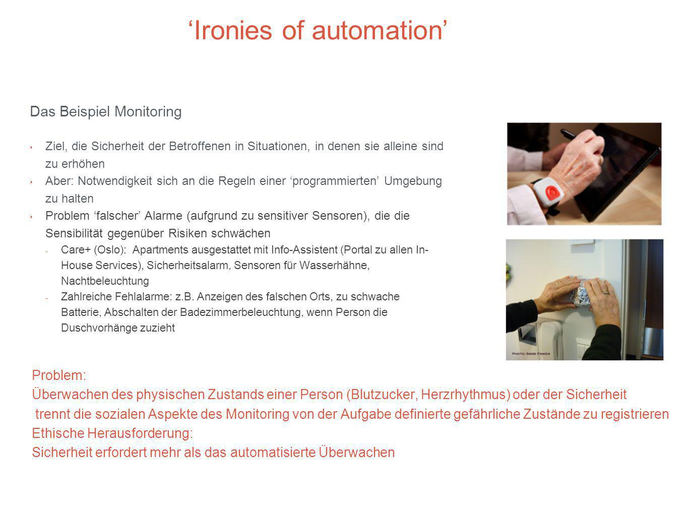 'Ironies of automation'