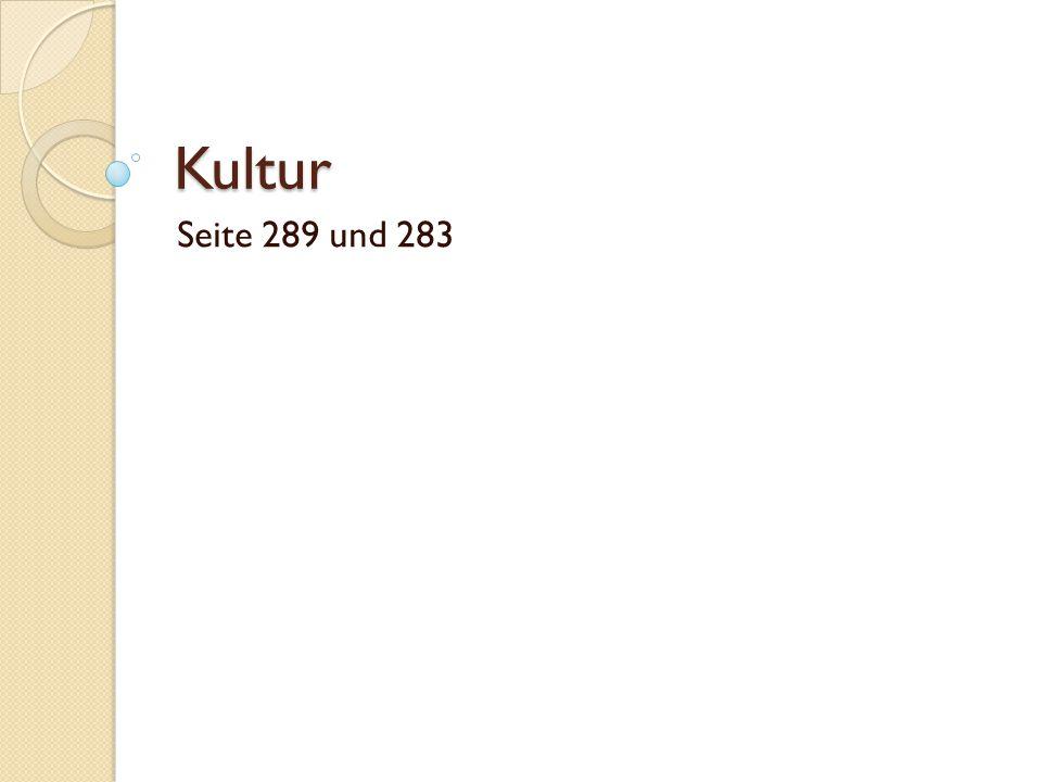 Kultur Seite 289 und 283