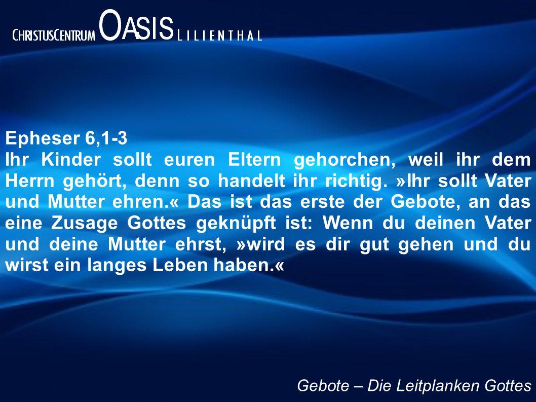Epheser 6,1-3