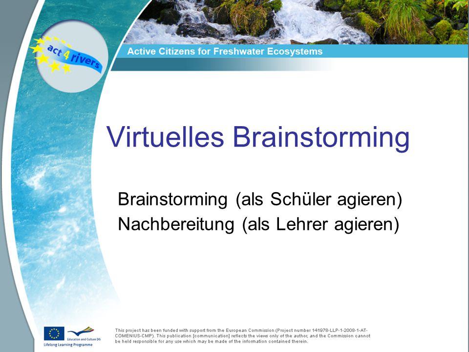 Virtuelles Brainstorming