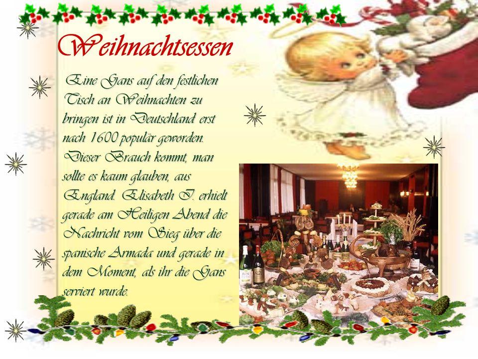Weihnachtsessen