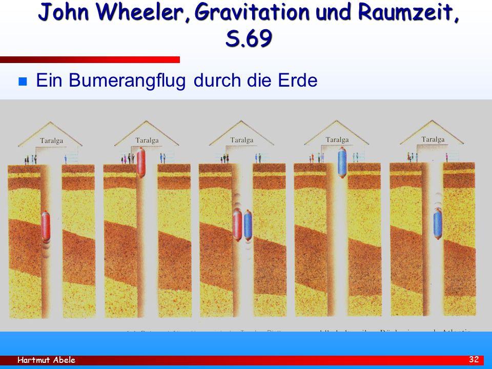 John Wheeler, Gravitation und Raumzeit, S.69