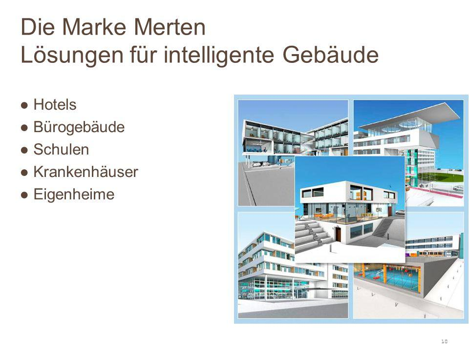 Die Marke Merten Lösungen für intelligente Gebäude