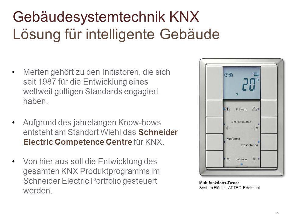 Gebäudesystemtechnik KNX Lösung für intelligente Gebäude