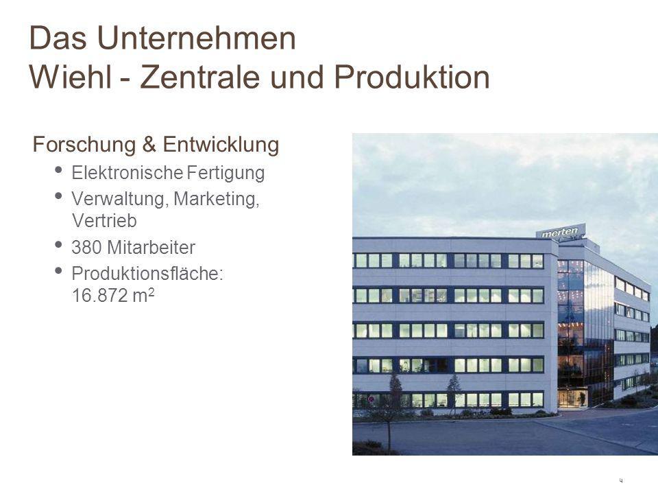 Das Unternehmen Wiehl - Zentrale und Produktion