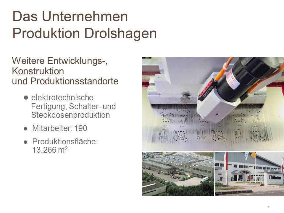 Das Unternehmen Produktion Drolshagen