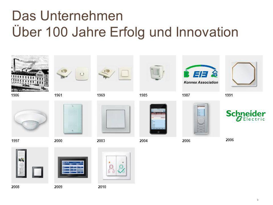Das Unternehmen Über 100 Jahre Erfolg und Innovation