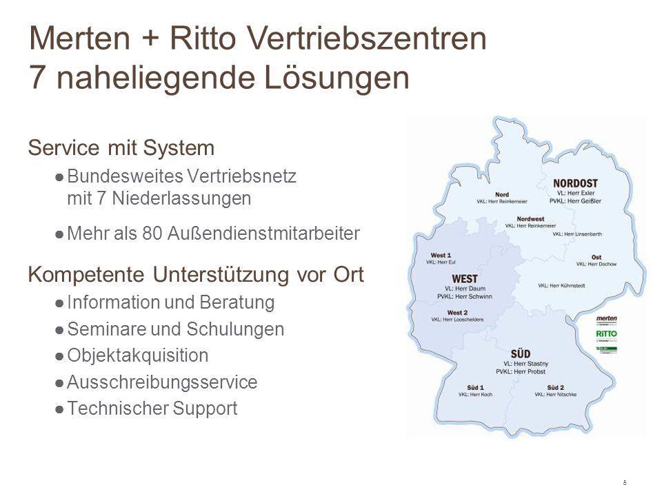 Merten + Ritto Vertriebszentren 7 naheliegende Lösungen