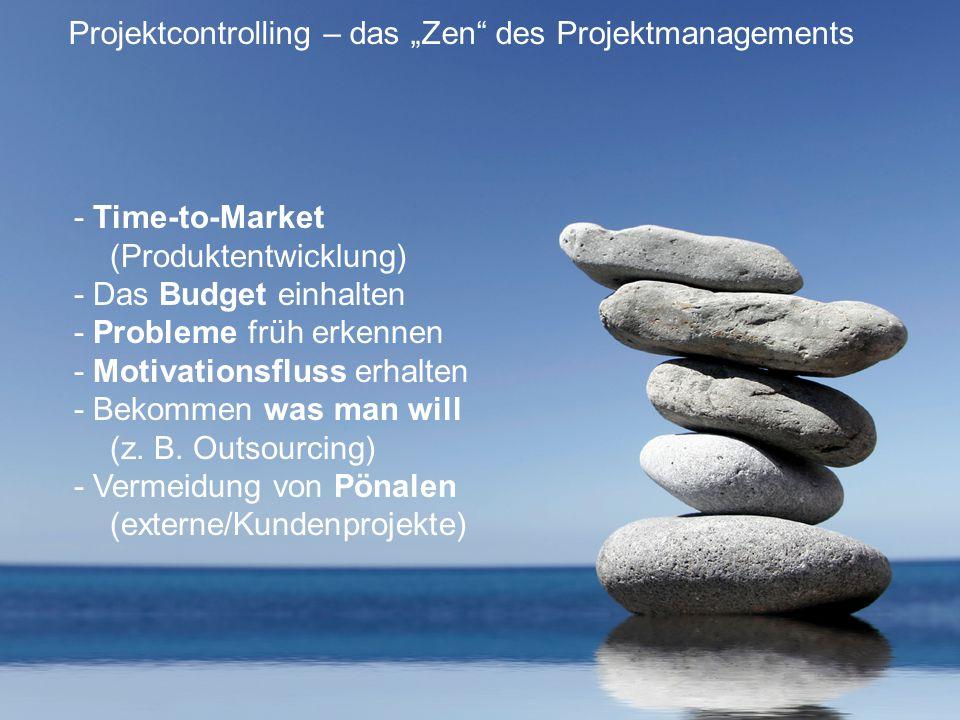 """Projektcontrolling – das """"Zen des Projektmanagements"""