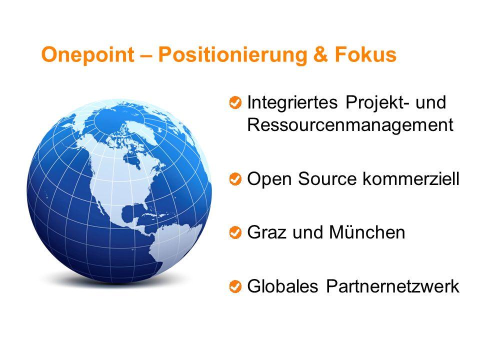 Onepoint – Positionierung & Fokus